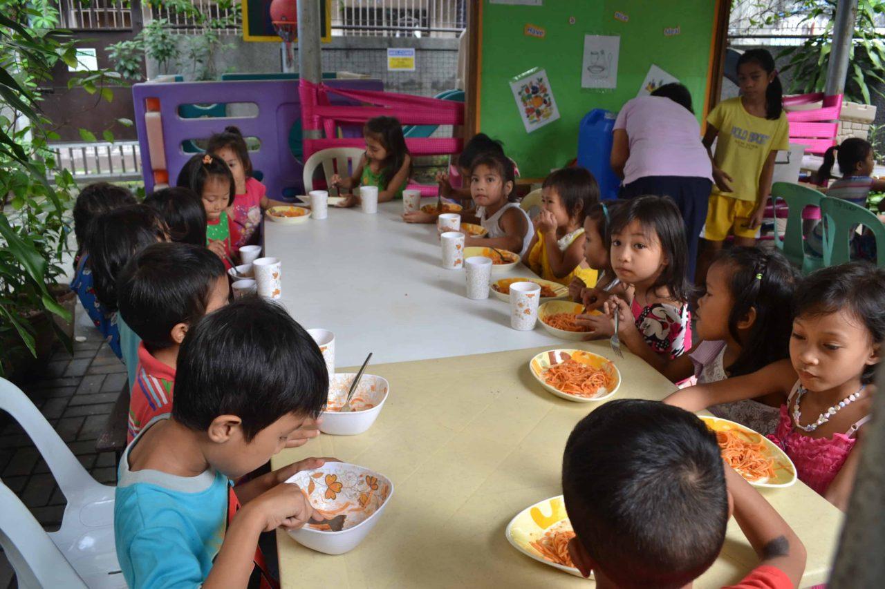 Bukas Palad Feeding Program
